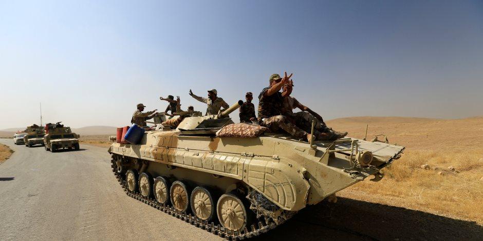 بأوامر من بغداد.. الحشد الشعبي يتسلم مهامه في قضاء الطارمية