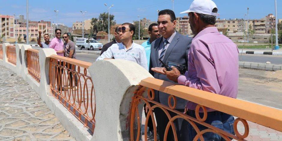 كفر الشيخ : افتتاح مبنى المسطحات خلال أيام وإنارة كورنيش بحيرة البرلس