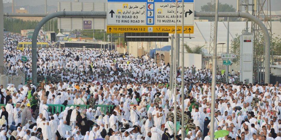 رئيس بعثة حج التضامن: نفير الحجاج يبدأ بعد مغرب اليوم متجهين إلى المزدلفة