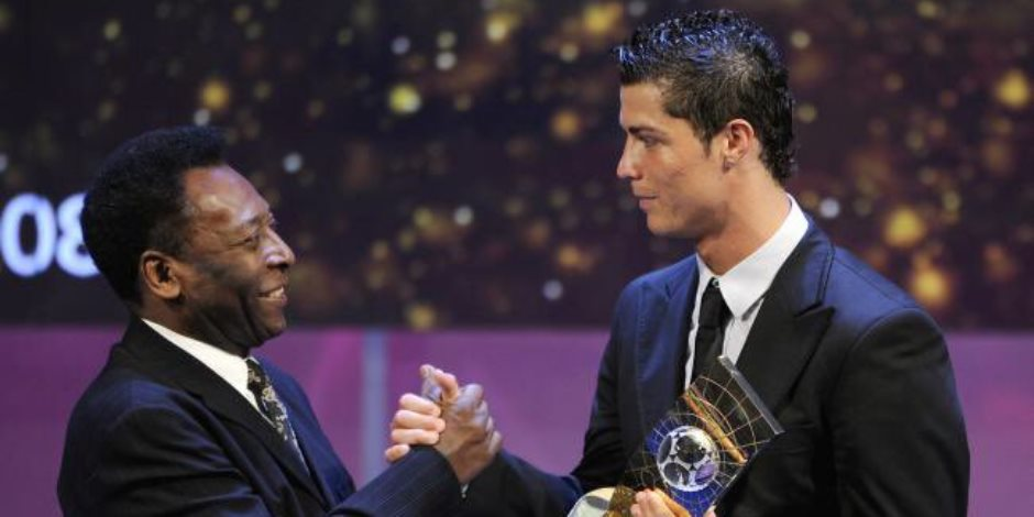 بيليه يهنئ رونالدو بتحقيقه رقم قياسي جديد مع منتخب البرتغال