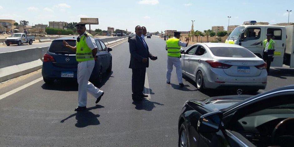 المرور يشن حملات توعية بأهمية الصلاحية الفنية للسيارات و الفرامل لمنع الحوادث