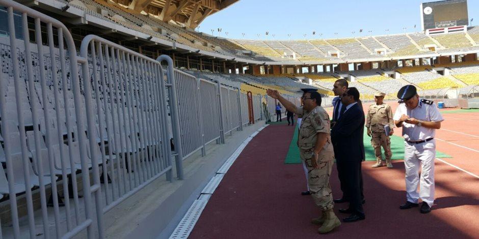 مدير أمن الإسكندرية يكشف خطة تأمين مباراة الفراعنة أمام أوغندا (صور)