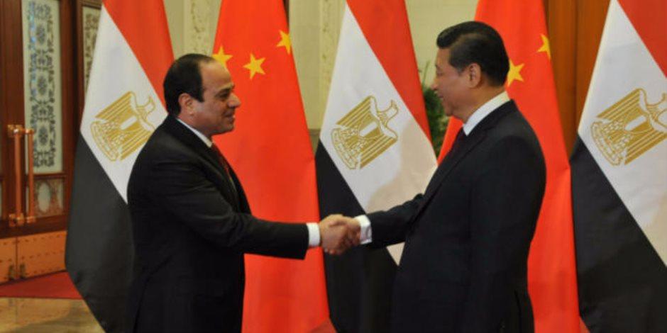 قمة ثنائية بين الرئيس السيسي ونظيره الصيني بمدينة شيامن