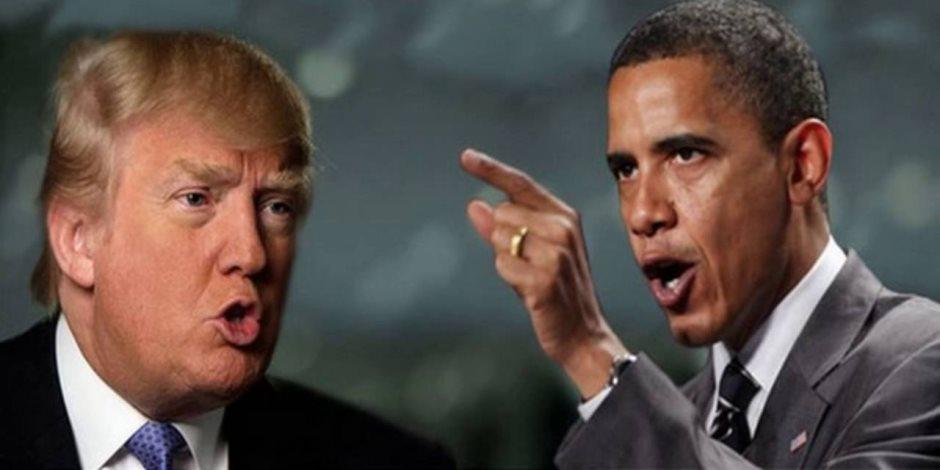 """ماذا يجهز ترامب لـ""""أوباما""""؟.. إيران تشعل الصراع مجددا بين الرئيس الأمريكي وسابقه"""