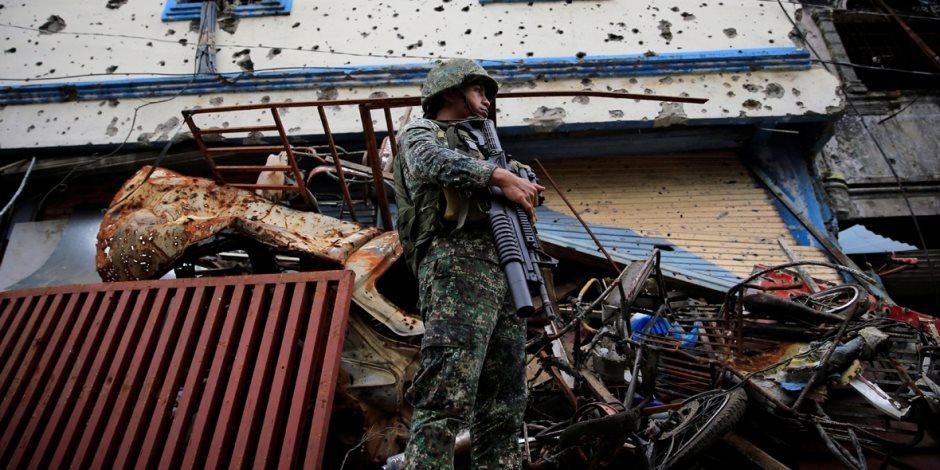 مقتل 8 دواعش في عمليات عسكرية جنوب الفلبين