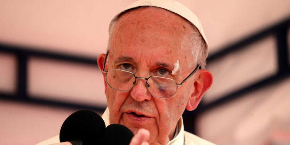 البابا فرنسيس عن المهاجرين واللاجئين: علينا استقبالها بأذرع مفتوحة
