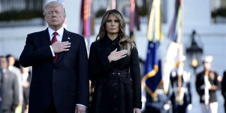 «لحظة صمت».. ترامب وزوجته يحييان أحداث سبتمبر على طريقتهما الخاصة (فيديو)
