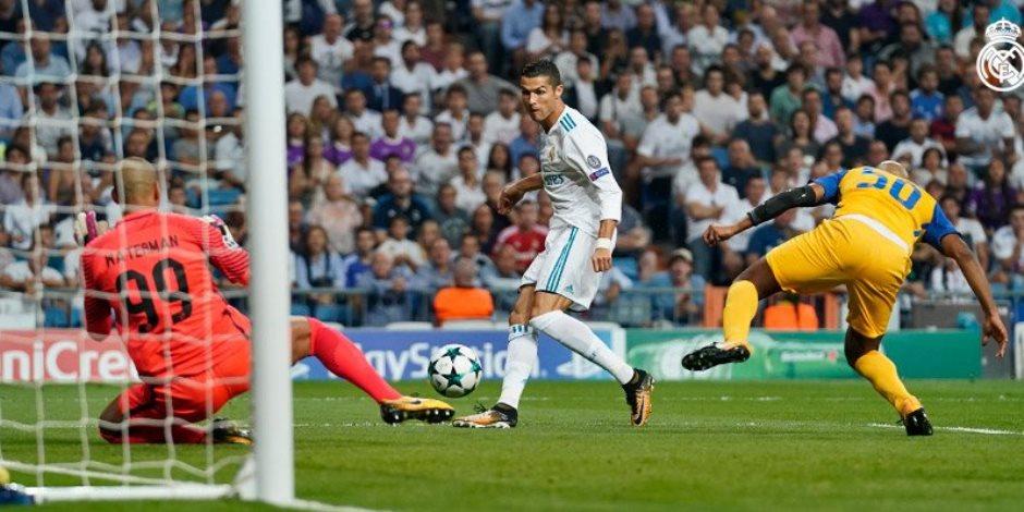رونالدو يقود ريال مدريد للفوز على أبويل بثلاثية بدوري الأبطال (فيديو)