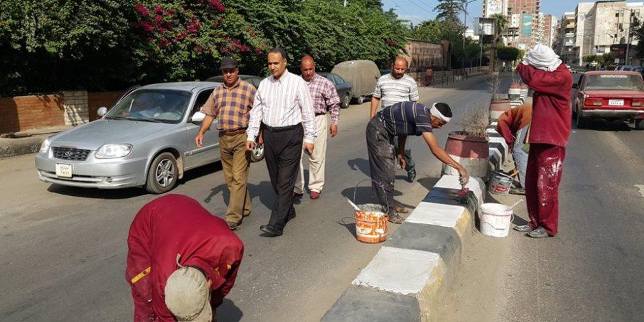 مساعد محافظ كفر الشيخ يتابع حملة نظافة بدسوق