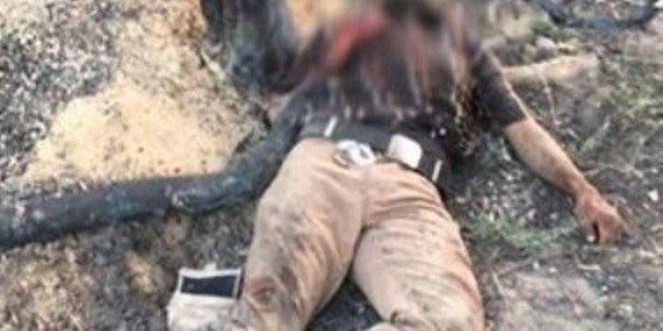 مقتل 3 تكفيريين قبل استهدافهم أحد الارتكازات الأمنية بشمال سيناء (صور)