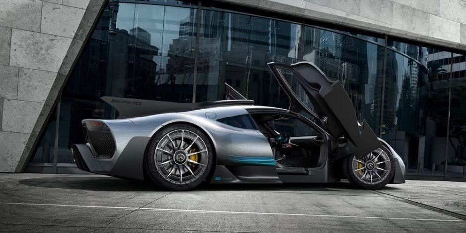 مرسيدس تكشف عن «بروجكت وان» أول سيارة تعمل بتكنولوجيا «الفورمولا1» بسعر 2.7 مليون دولار
