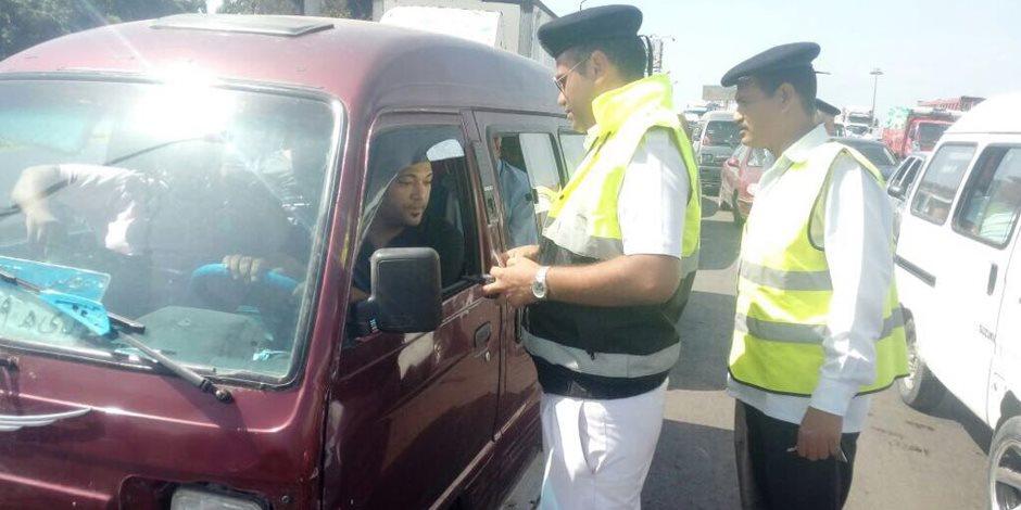 ضبط 26 سائقا يتعاطون المخدرات أثناء القيادة بالطرق السريعة