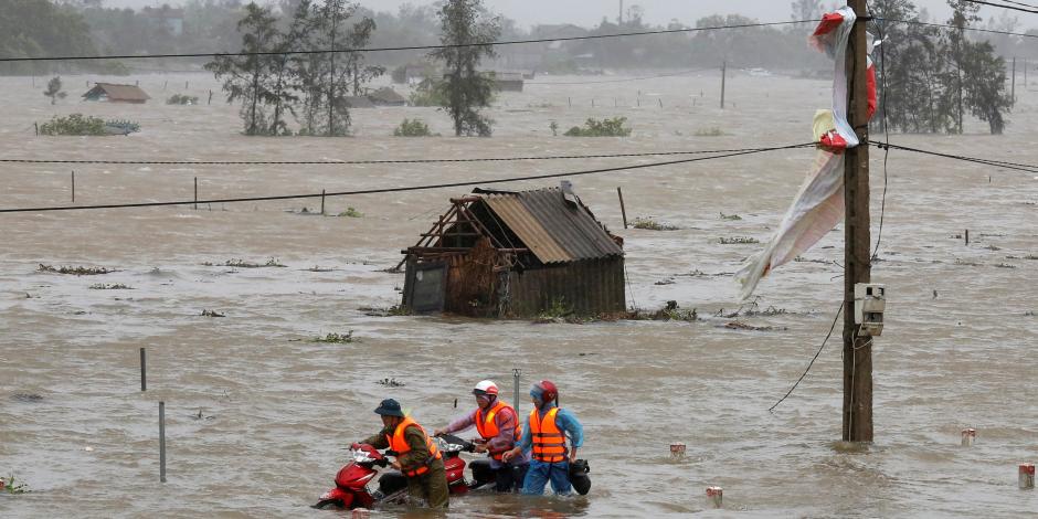 """الإعصار """"دامري"""" يخلف 69 قتيلاً و30 مفقودا في فيتنام"""