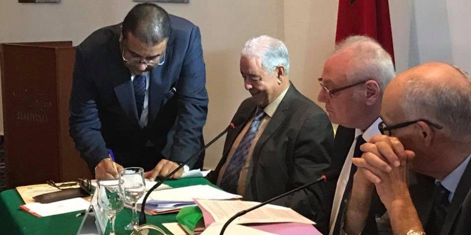 مصر تحصد منصب نائب الرئيس الكونفدرالية الأفريقية للكرة الحديدية «الرفا»