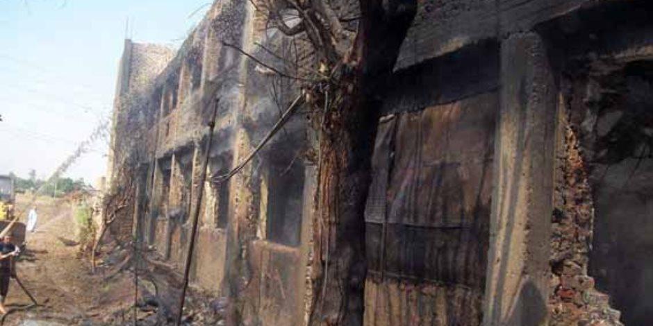 إخماد حريق داخل شقة سكنية في إمبابة