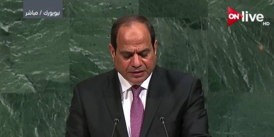 السيسي: مصر من أكثر الدول اهتماما بإطلاق مبادرة حوض النيل