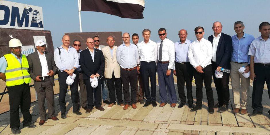 5 اتفاقيات ألمانية لإنشاء مصانع في المنطقة الصناعية لشرق بورسعيد (صور)