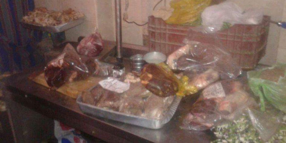 قبل رمضان.. ضبط 50 كيلو لحوم فاسدة بمحلات الزيتون