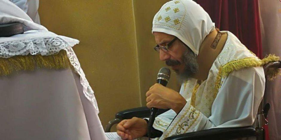 الكنيسة تقيم قداس الأربعين لمطران ميلانو بشبين القناطر