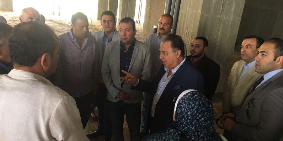 في ثاني يوم له بالأقصر.. وزير الصحة يتفقد أعمال التطوير بمستشفى البياضية