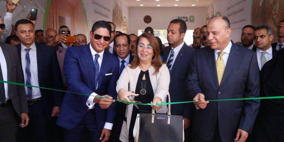 """غادة والي: مبادرة حديد المصريين بتطوير """"أقدار"""" نموذج للتعاون بين القطاعين الحكومي والخاص"""