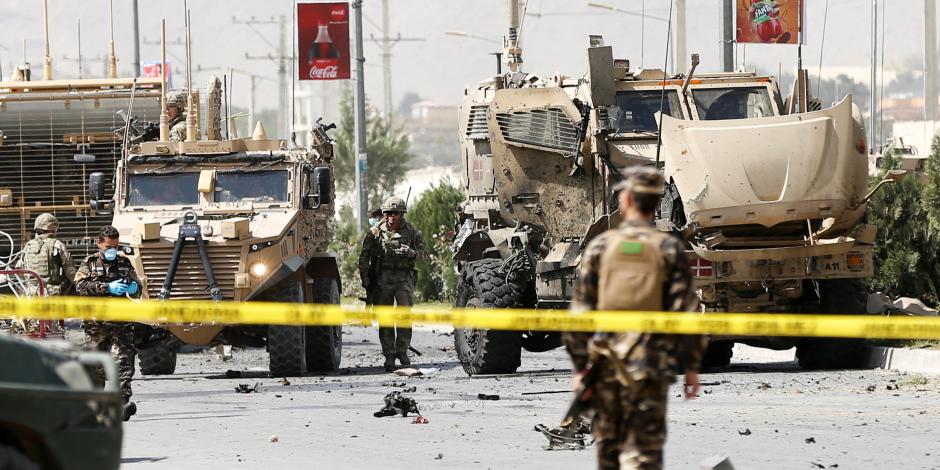 افغانستان: مقتل 7 مدنيين فى انفجار لغم بولاية هيلمند