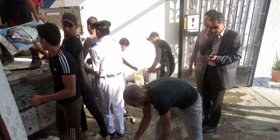 ضبط 74 قضية مخدرات وسلاح ناري وتنفيذ أحكام في حملة أمنية بالجيزة