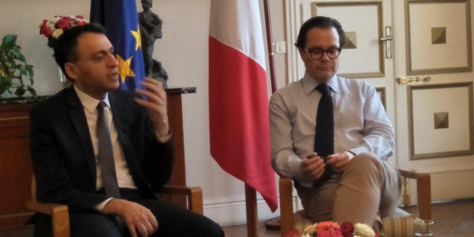 السفير الفرنسي بمصر: أمن فرنسا يبدأ بأمن مصر.. وننتظر زيارة السيسى لباريس خلال الأسابيع القادمة