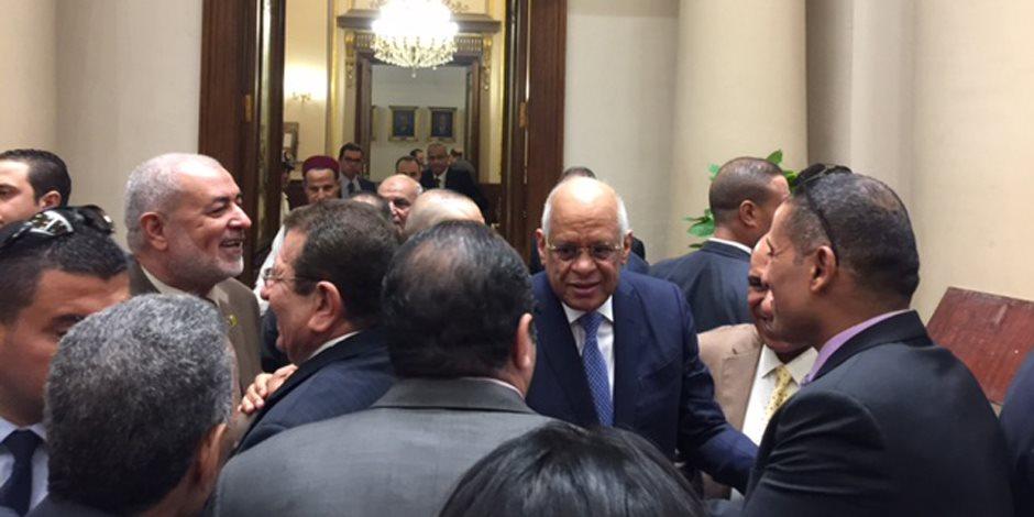 """علي عبدالعال لـ""""النواب"""": أشكركم أغلبية وأقلية على تعاونكم مع تطلعات الشعب"""