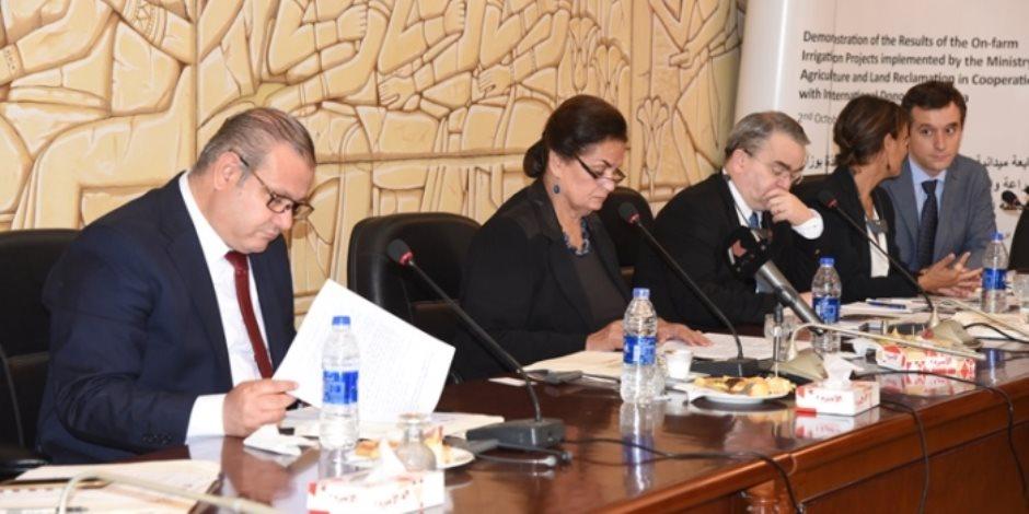 نائب وزير الزراعة: تنفيذ أكثر من 150 ألف فدان من مشروع الري الحقلي على مستوى الجمهورية