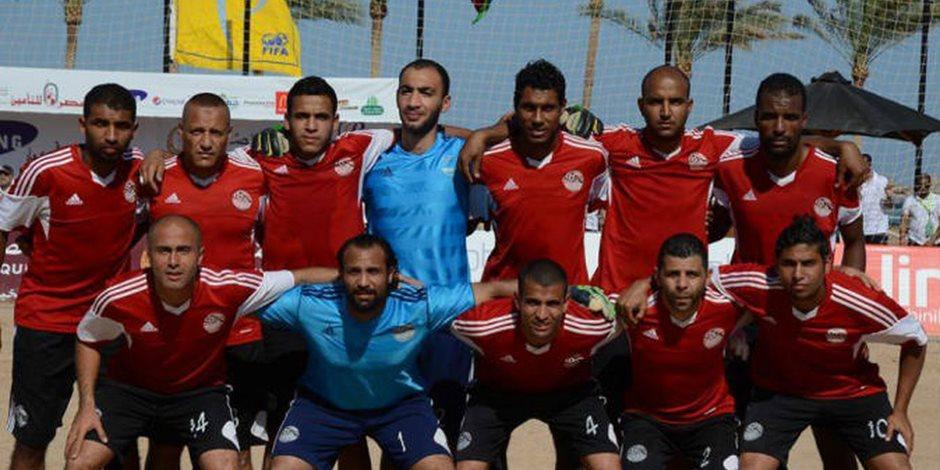منتخب الشاطئية يواجه عمان بشرم الشيخ استعدادا لأمم إفريقيا