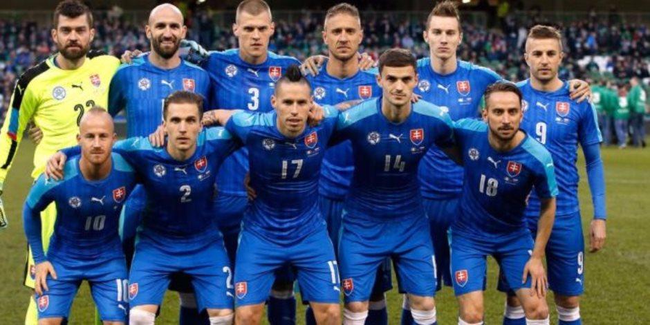 سلوفاكيا تخطف بطاقة الملحق الأوروبى في تصفيات كأس العالم