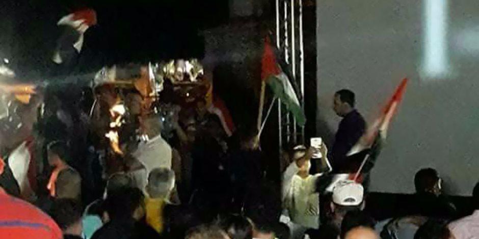 في 24 ساعة.. القاهرة تلم الشمل في سوريا وفلسطين (فيديو وصور)