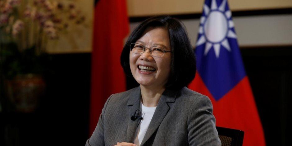 رئيسة تايوان: ندرك ضرورة إنفاق المزيد على مجال الدفاع