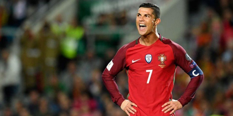 كريستيانو رونالدو يتصدر قائمة البرتغال النهائية للمونديال