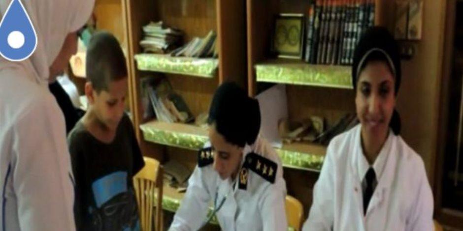 """قوافل """"الخدمات الطبية بالداخلية"""" توقع الكشف على """"أطفال أيتام"""" بمحافظتي القاهرة والجيزة"""
