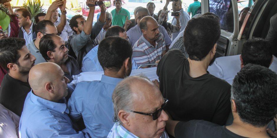 تشييع جثمان المخرج محمد راضي من مسجد السلام - تصوير : خالد كامل
