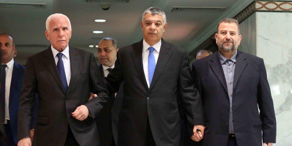 بالتواريخ.. الجدول الزمني لاتفاق المصالحة الفلسطينية في القاهرة (صور وأنفوجراف)