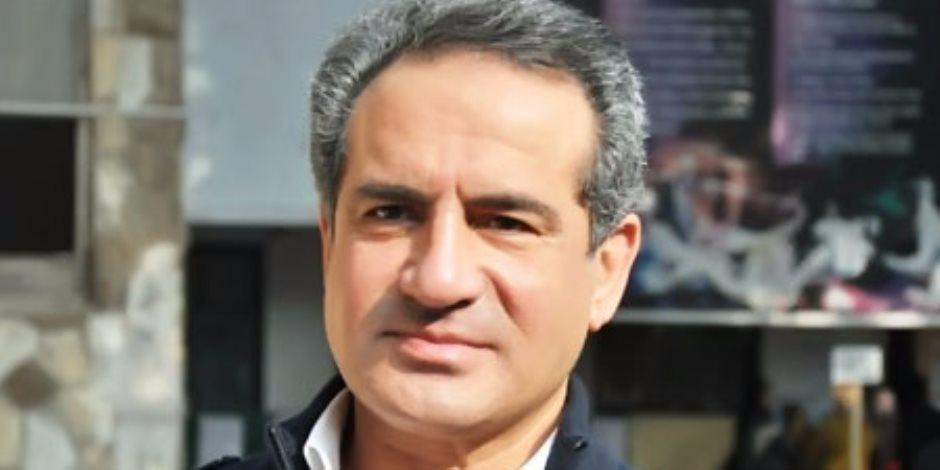 محمد ثروت: «لازم نشارك في الانتخابات علشان يستمر الأمن»