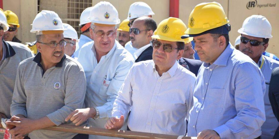 على طريق الاكتفاء.. كيف نجح وزير البترول في تنفيذ خطة تنمية الاحتياطي من الغاز؟