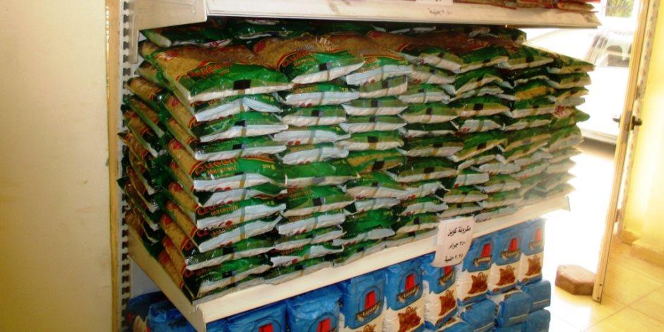 تحرير 40 قضية تموينية وضبط 3 طن سلع غذائية مجهولة المصدر في المنوفية