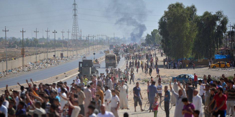 استقبال شعبي للقوات العراقية في كركوك (صور)