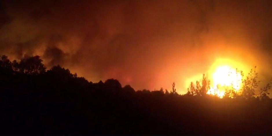 رجل الإطفاء يواجهون 15 حريقا في إيطاليا