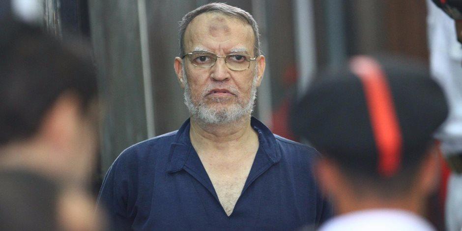 """جنايات القاهرة تعرض العريان على مستشفى السجن وتؤجل """"فض رابعة"""""""