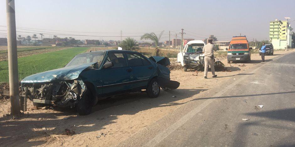 إصابة صيني صدمته سيارة أمام مول مصر بالجيزة