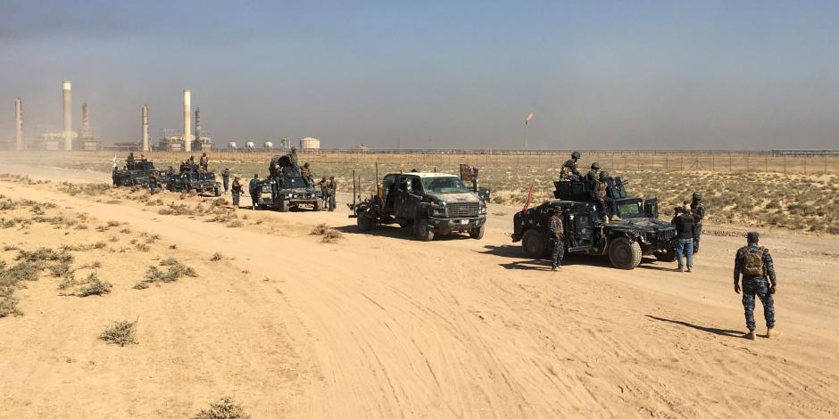الجيش العراقي يتعقب داعش في بعقوبة