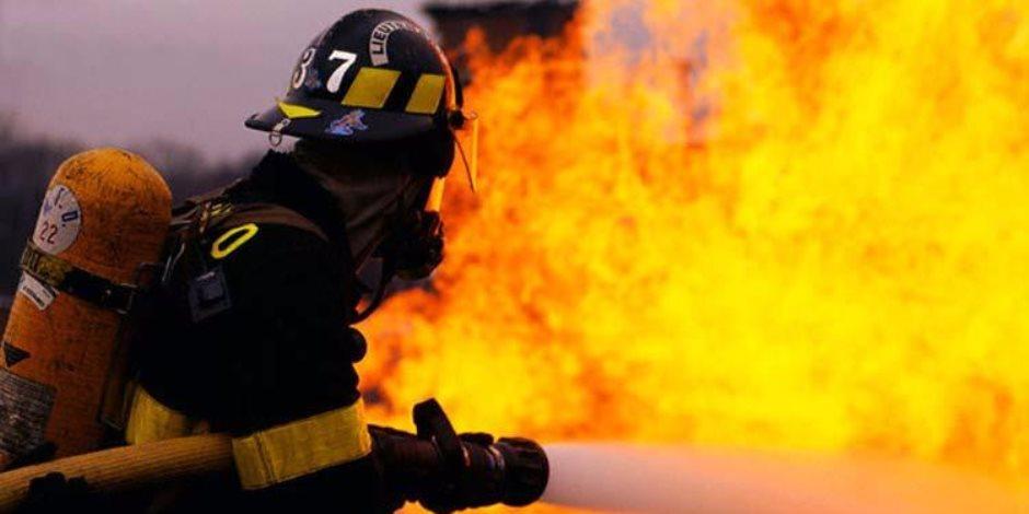 انتداب الأدلة الجنائية لمعاينة حريق بمستشفى الشاطبي بالإسكندرية