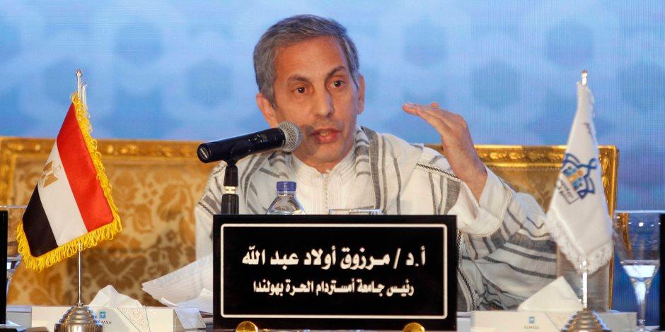 الحبيب الجفري: مؤتمر الإفتاء العالمي يؤكد أن مصر والأزهر هما المرجعية السنية الوحيدة في العالم (صور)