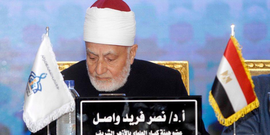 """الحبيب الجفرى: """"مصر والأزهر هم المرجعية السنية وما يحدث الآن بمؤتمر الإفتاء دليل"""" (صور)"""