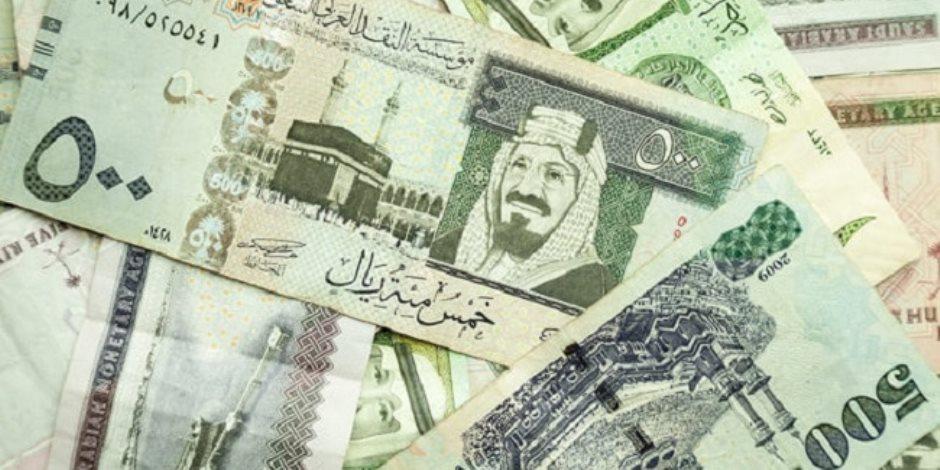 سعر الريال السعودى اليوم الإثنين 20 /2017/11 بالبنوك المصرية